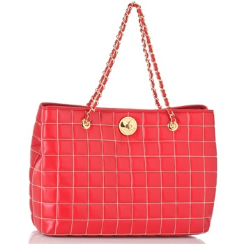Love Moschino Red/Gold Shopper