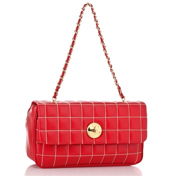 Love Moschino Red Borsa Handbag