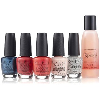 OPI Pack of Six Style-Tastic Nail Lacquer Collection 5 x 15ml/1 x 60ml