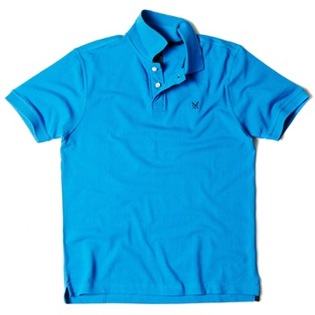 Crew Clothing Blue Lewis Solid Polo Shirt