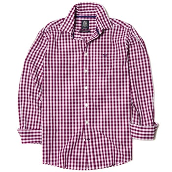 Crew Clothing Heather Classic Fit Gingham Shirt