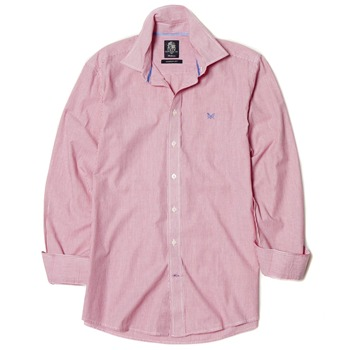 Crew Clothing Strawberry Classic Fit Striped Shirt