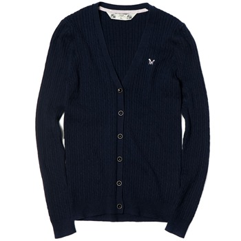 Crew Clothing Navy Georgina Cardigan