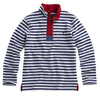 Joules Blue Striped Sweatshirt