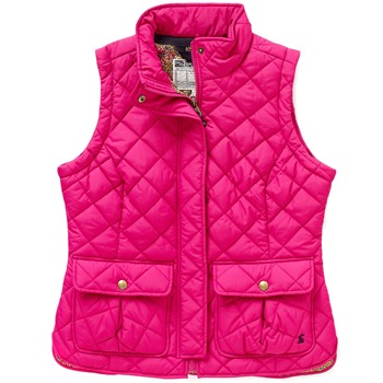 Joules Hot Pink Padded Gilet