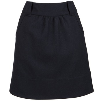 Joules Navy Astwick Tweed Skirt