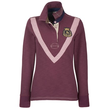 Joules Burgundy Falynn Polo Shirt