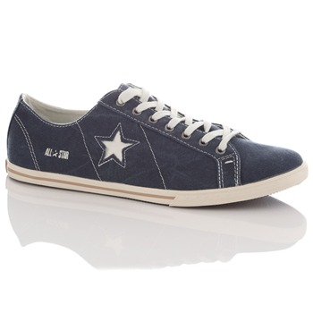 Converse Men's Navy One Star Pro Low-Rise Trainers
