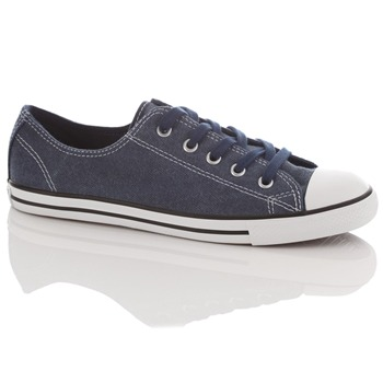Converse Women's Navy All Star Dainty Trainers