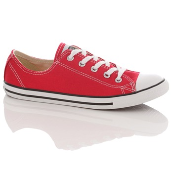 Converse Women's Red All Star Dainty Trainers