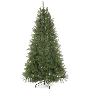 Festive Green Sandringham Spruce Tree 7.5ft