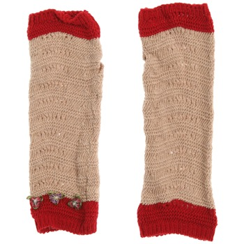 Avoca Tan/Red Floribunda Cotton Gloves
