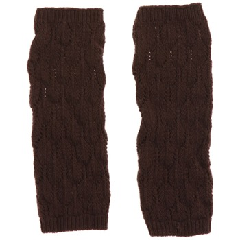 Avoca Brown Lief Wool Blend Gloves