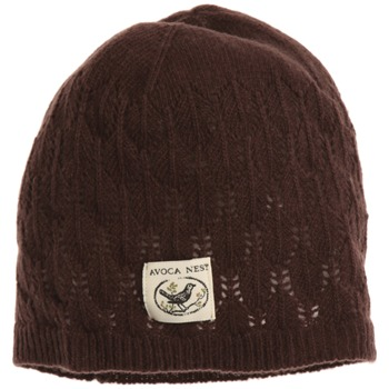 Avoca Brown Lief Wool Blend Hat
