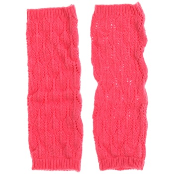 Avoca Pink Lief Wool Blend Gloves