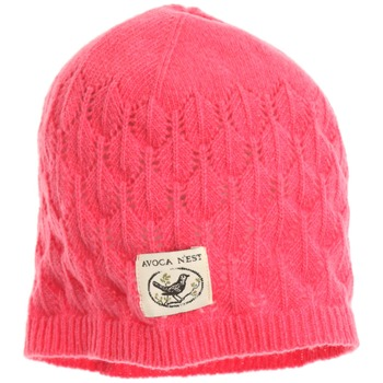 Avoca Pink Lief Wool Blend Hat
