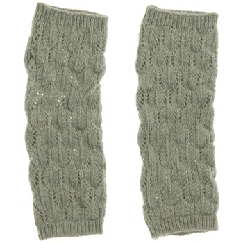 Avoca Pale Green Lief Wool Blend Gloves