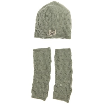 Avoca Pale Green Lief Wool Blend Two Piece Set