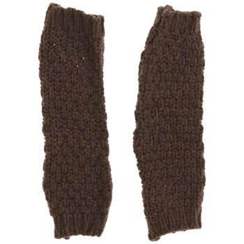 Avoca Brown Moss Cashmere Blend Gloves