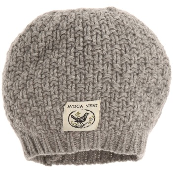 Avoca Pearl Grey Moss Cashmere Blend Hat