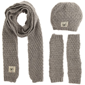 Avoca Pearl Grey Moss Cashmere Blend Three Piece Set