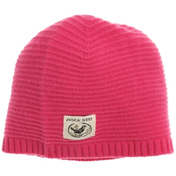 Avoca Hot Pink Snapper Cashmere Blend Hat