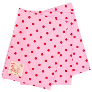 Avoca Set of 3 Pink/Red Polka Dot Teatowel