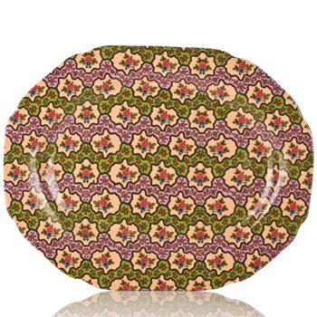 Avoca Green Spice Road Serving Plate
