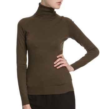 Hoss Intropia Moss Green Roll Neck Jumper