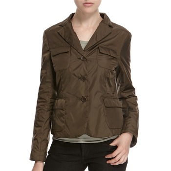 Hoss Intropia Khaki Three Button Jacket