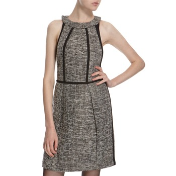 Hoss Intropia Black Wool Blend Sleeveless Dress