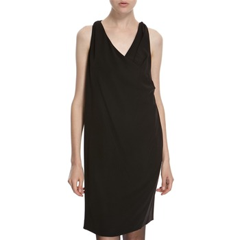 Hoss Intropia Black Back Tie Dress