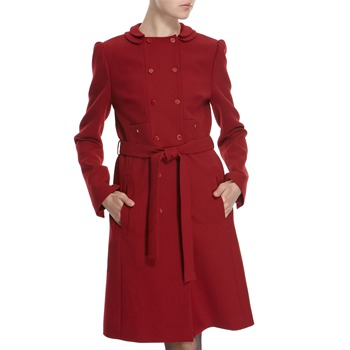 Hoss Intropia Scarlet Double Breasted Coat
