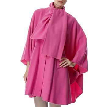 Avoca Anthology Pink Wool/Cashmere Blend Cape