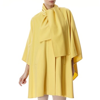Avoca Anthology Yellow Wool/Cashmere Blend Cape