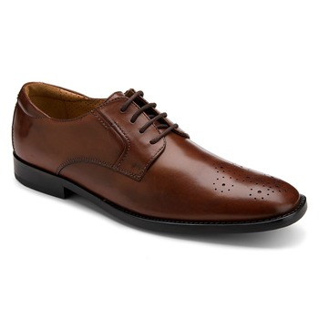 Rockport Tan Leather OR Perforated Plain Toe Shoes