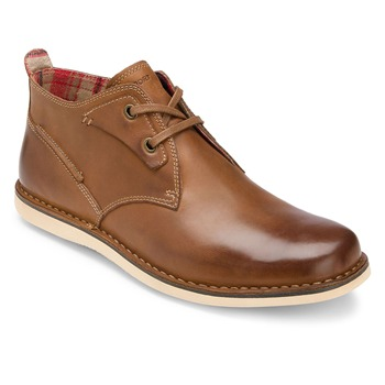Rockport Brown Leather ES Casual Ankle Boots