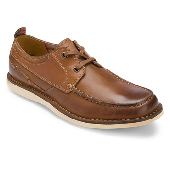 Rockport Brown Leather ES Moccasins