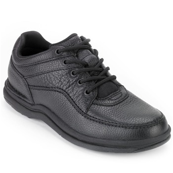Rockport Black World Tour Classic Leather Shoes