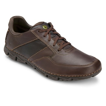 Rockport Brown Leather Lite Shoes