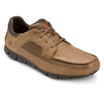 Rockport Tan Leather Rocsport Lite Shoes