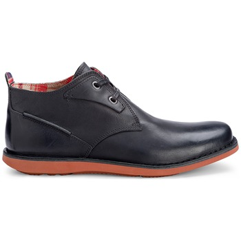 Rockport Black Casual Leather Ankle Boots