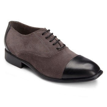 Rockport Black Lola Cap Toe Leather Oxford Shoes
