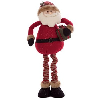 Heaven Sends Red Santa Figure