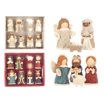 Heaven Sends Mixed Nativity Set