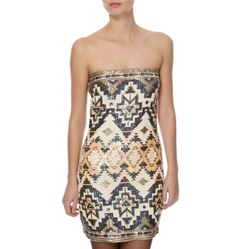 BGIRL Multicoloured Aztec Dress