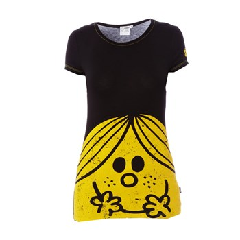 monsieur madame sunshine all t shirt noir abystyle. Black Bedroom Furniture Sets. Home Design Ideas