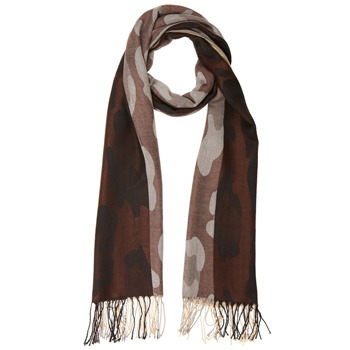 Yas Silver Silver/Brown/Cream Pashmina