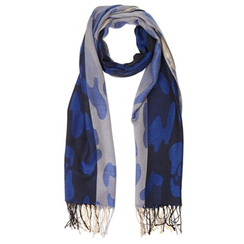 Yas Silver Black/Blue/Cream Pashmina