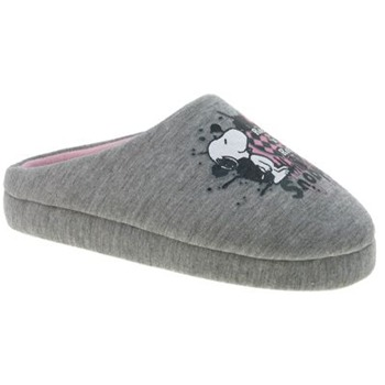 Beppi Grey Snoopy Slippers